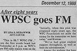 After Eight Years, WPSC Goes FM