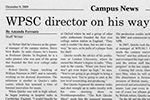 WPSC Director On His Way To Doctorate