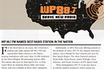 WP 88.7 Named Best Station In The Nation
