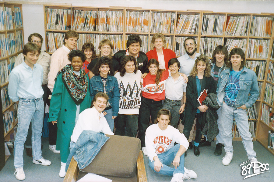 The First FM Staff in 1988