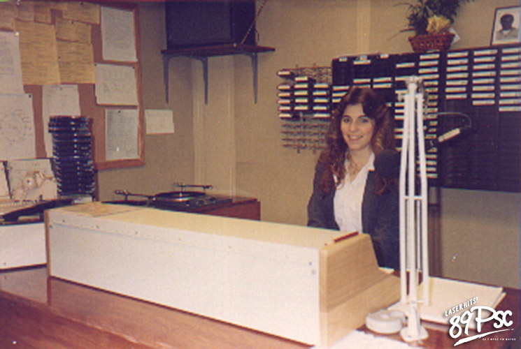 Deanna Malsman, First WPSC-FM Air Shift