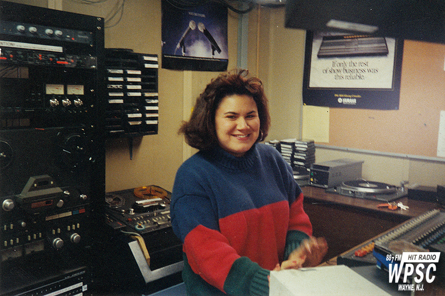 Patty Reyes In The Production Room