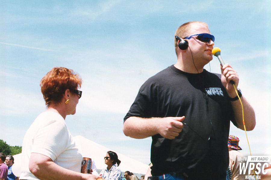 Mike Barker On Air At Wayne Day 1997
