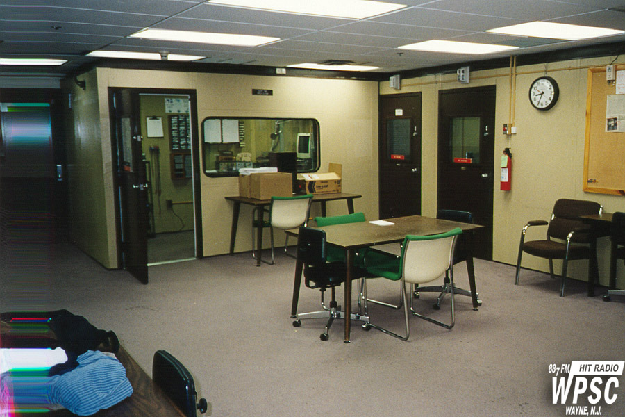 The WPSC-FM Lounge Area