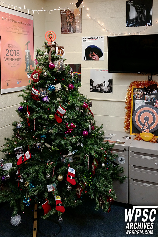 WPSC-FM Christmas Tree, 2018