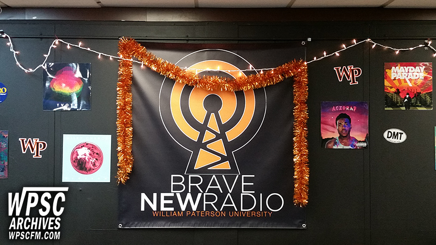 Brave New Radio Banner & Christmas Decorations