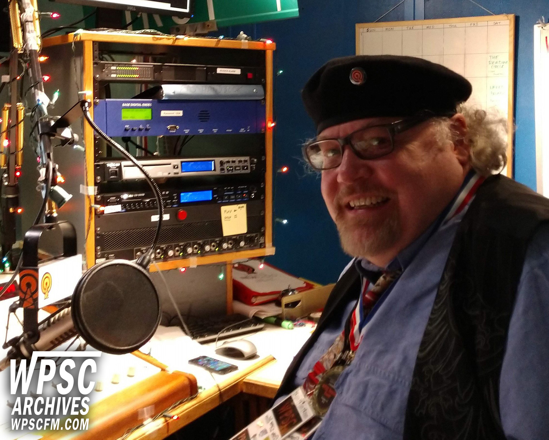 Rich Ottenstroer On Air At WPSC-FM