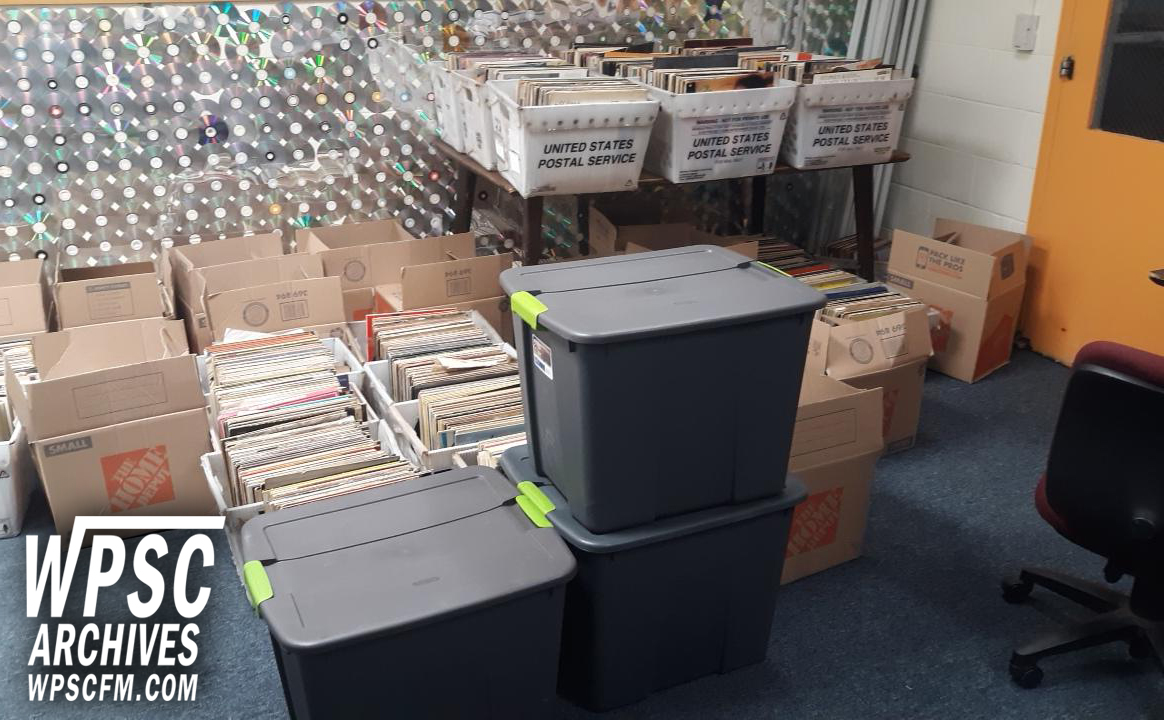 Record Collection At WPSC-FM