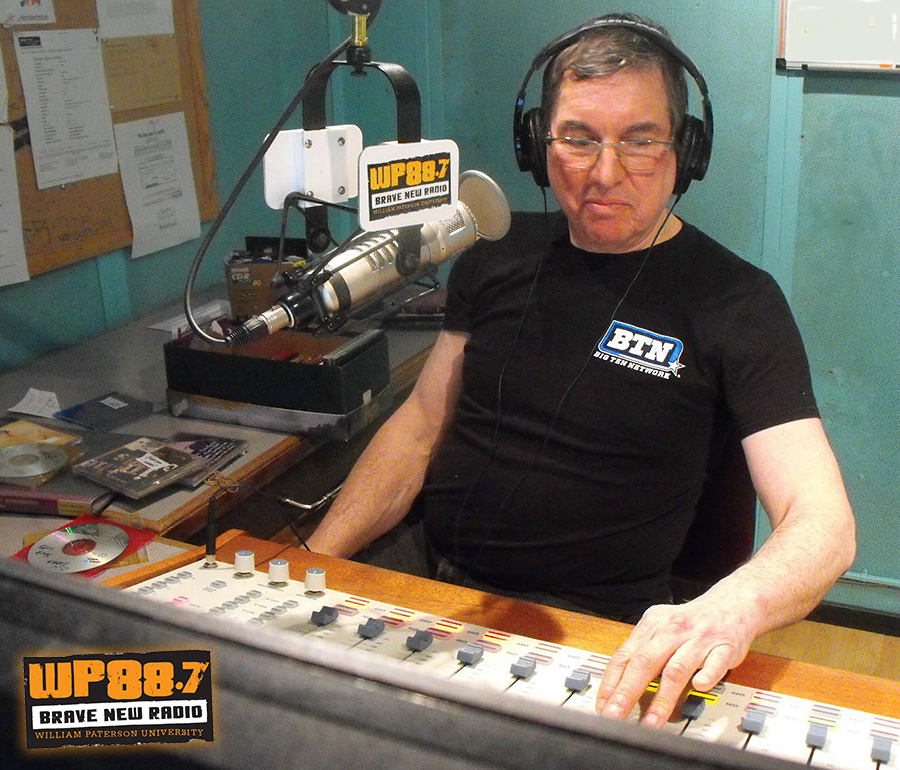 Bob Paquette On-Air, Alumni Takeover Weekend 2016