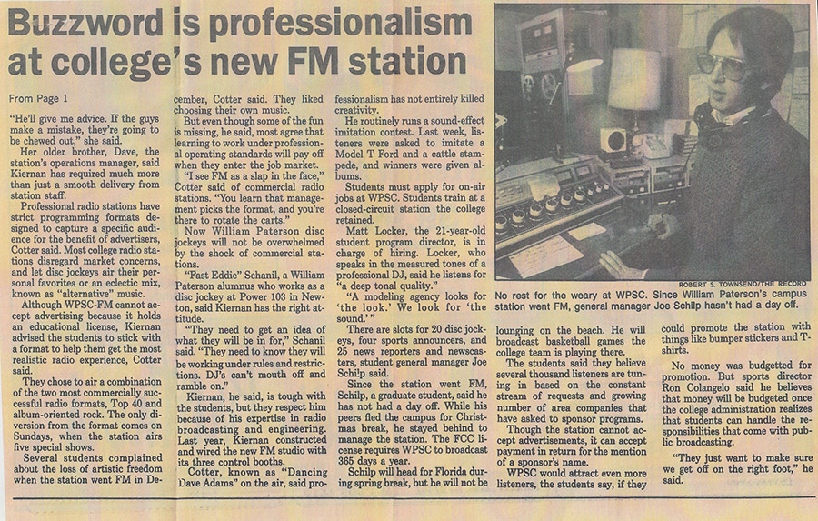 Clipping From The Record, December 1988 (2 of 2)