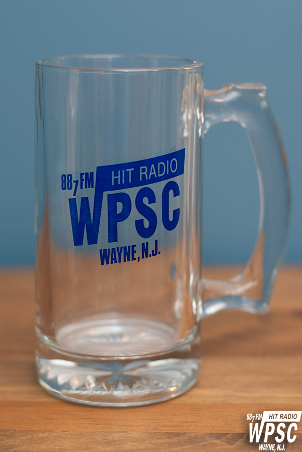 The WPSC-FM Drinking Glass