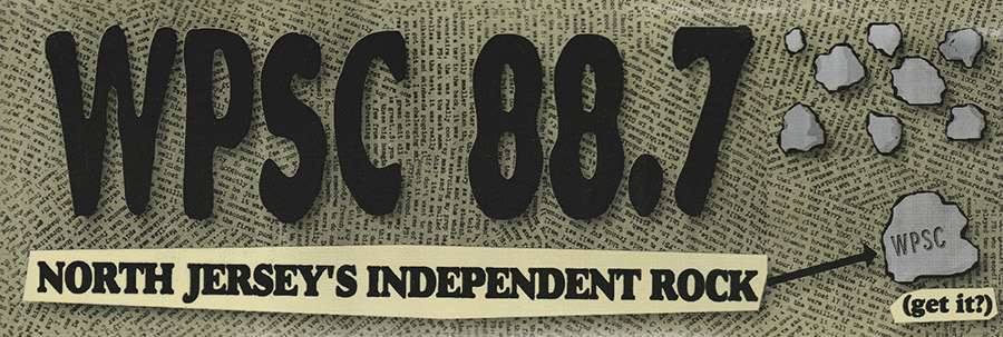 North Jersey's Independent Rock Bumper Sticker